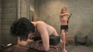 Kade gets trained by his femdom