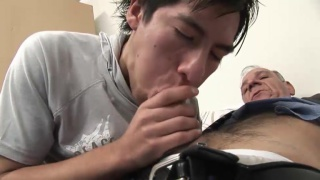 Latino Blows Old Man