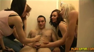 Str8 Guy Wanked in the Toilet