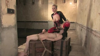 Kade gets trained by a dominant female