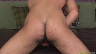 Furry Butt Jock Jacks Off