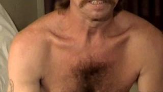 Hairy Redneck Beating Off