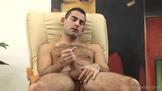 Hairy Dude's Foreskin JO