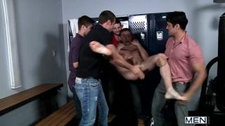 Banged in Locker Room