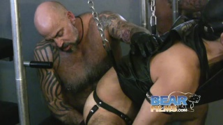 Tattooed Cigar-Smoking Bald Daddy