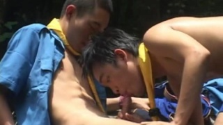 Asian Boy Scouts Fucking
