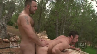 Fucking a Power Bottom Outdoors