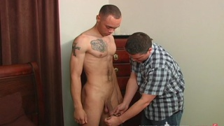 Sexy Soldier's Porn Audition