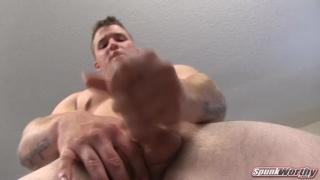 Cute Marine Busting a Load