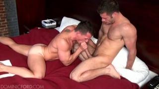 Servicing Tristan Jaxx's Big Cock
