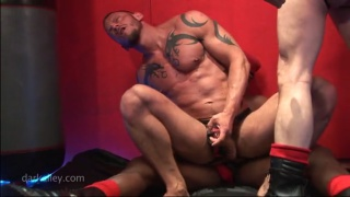 Tattooed Euro Muscle Riding Raw Dick