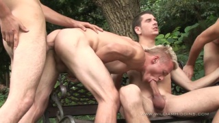 5 Uncut Cocks for Outdoor Fun