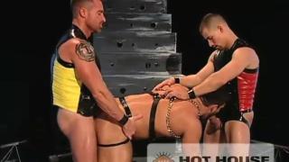 3sum of muscular sleazy men