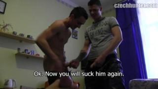 2 Straight Guys Fucking Sex Toy