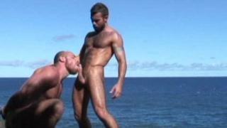 Hairy Men Fucking by Ocean