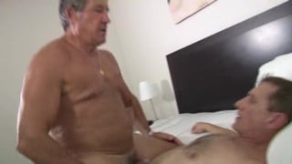 Daddies Fucking in Kitchen