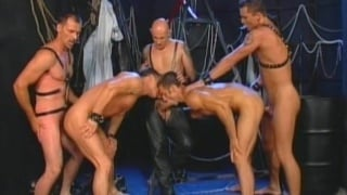 5 Leather Men Banging
