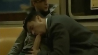 Train Ride Blowjob