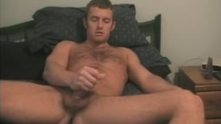 Furry College Dude Wanking