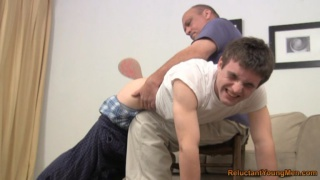 Bad Boy Spanking with Ping Pong Paddle