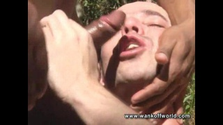 Taking a Massive Raw Cock Outdoors