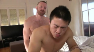 Tim Kruger Fucks Asian Muscle Boy