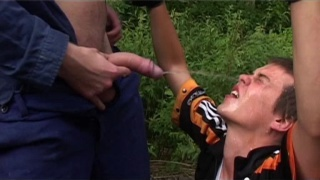 Train Workers Abuse Boys in Woods