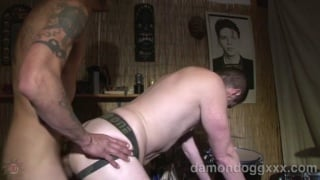 Cody Butler Barebacked by Damon Dogg