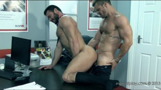 Landon Conrad & Jessy Ares Fucking at Office