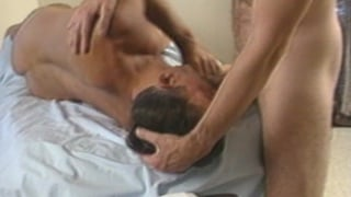 Kinky older guys having butt sex
