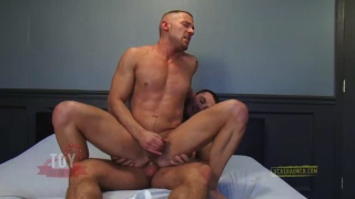 Dildo Fucking Tyler Wolf's Hungry Ass