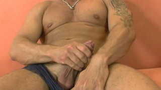 Renato Bellagio shows his body and hard cock