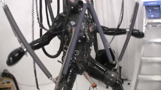 Full Body Bondage and Cock Pump Play