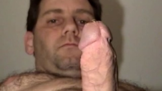 Straight Gentleman Plays with Hard On