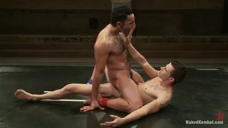 Gianni Luca & Adonis Wrestling Nude