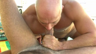 Hung Daddies Play with their Big Cock