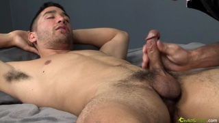 Cute Straight Dude Gets Milked & Blown