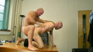 Carlo Cox Fucks Matteo Valentine on Desk