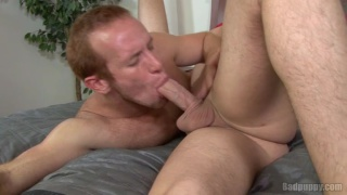 Redhead Guy in 69 Cock Sucking