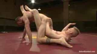 Clayton Kent & Rob Yaeger Nude Wrestling