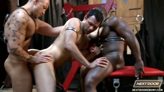 Black, White, Mexican Threeway
