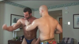 Muscle Worship with Frank Defeo and Kyle Steven