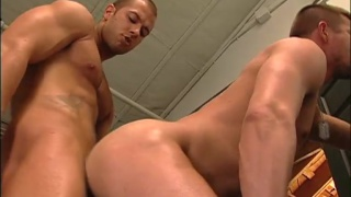 Daily gets his huge tool sucked by greedy cocksucker