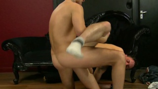Dirty Boy Riley Tess Gets Ass Drilling
