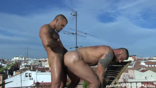 Damien Crosse & Alex Marte Fucking Outdoors