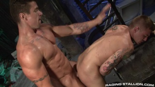 Trenton Ducati Wailing on James Ryder's Ass