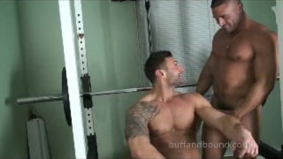 Mike Buffalari and Sam Rizzo Naked in Gym