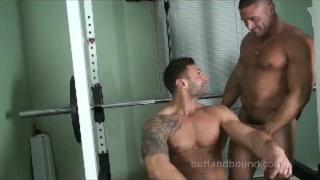 Mike Buffalari and Sam Rizzo Naked in Gym