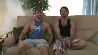 Joe Parker and Logan Vaughn