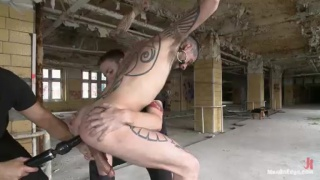 Logan McCree Tied Up and Edged